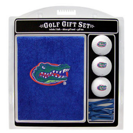 Florida Gators Golf Balls, Golf Tees, and Embroidered Towel Set (20920 Team Golf) photo