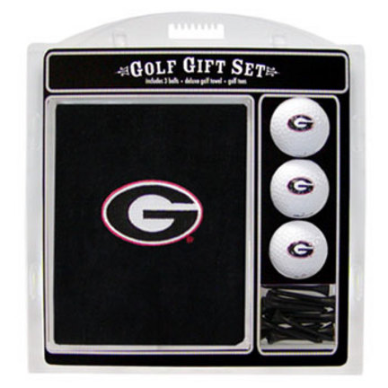 Georgia Bulldogs Golf Balls, Golf Tees, and Embroidered Towel Set (21120 Team Golf) photo