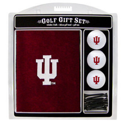Indiana Hoosiers Golf Balls, Golf Tees, and Embroidered Towel Set (21420 Team Golf) photo