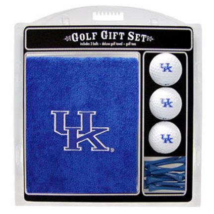 Kentucky Wildcats Golf Balls, Golf Tees, and Embroidered Towel Set (21920 Team Golf) photo