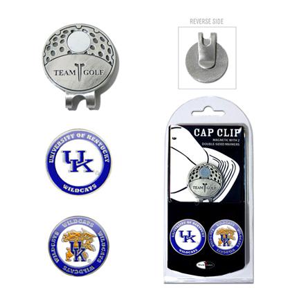 Kentucky Wildcats Golf Marker and Cap Clip Pack