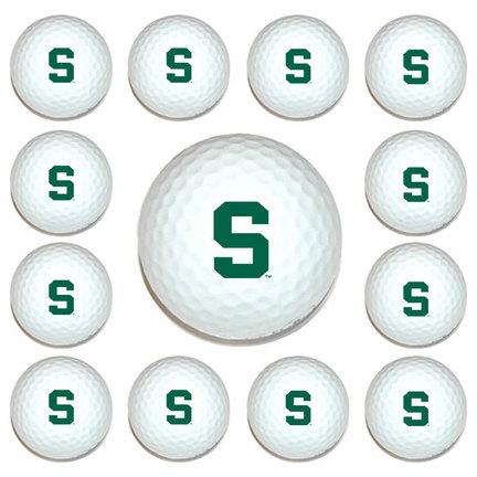 Michigan State Spartans Golf Ball Pack (1 Dozen) TMG-22303
