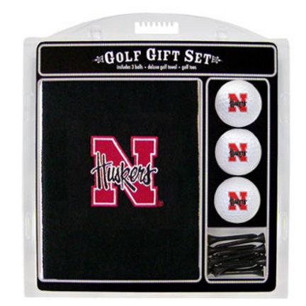 Nebraska Cornhuskers Golf Balls, Golf Tees, and Embroidered Towel Set (22420 Team Golf) photo