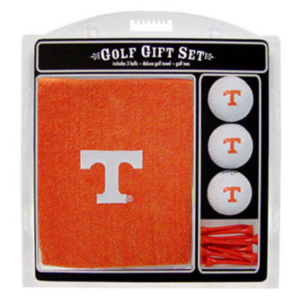 Tennessee Volunteers Golf Balls, Golf Tees, and Embroidered Towel Set (23220 Team Golf) photo