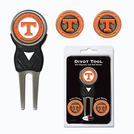 Tennessee Volunteers Golf Ball Marker and Divot Tool Pack