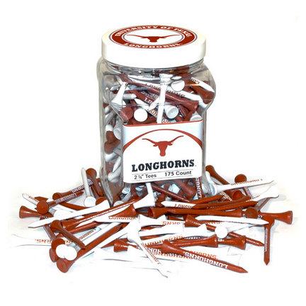 Jar of Texas Longhorns Golf Tees (175 Tees)