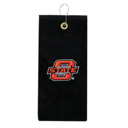 """Oklahoma State Cowboys 16"""" x 25"""" Embroidered Golf Towel (Set of 2)"""