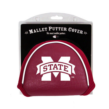 Mississippi State Bulldogs Golf Mallet Putter Cover (Set of 2)