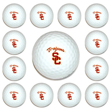 USC Trojans Golf Ball Pack (1 Dozen) TMG-27203