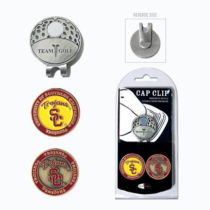 USC Trojans Golf Marker and Cap Clip Pack TMG-27247