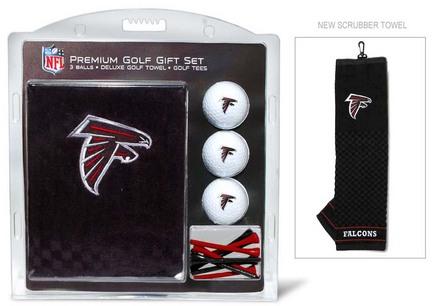 Atlanta Falcons Golf Balls, Golf Tees, and Embroidered Towel Set (30120 Team Golf) photo
