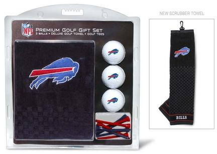 Buffalo Bills Golf Balls, Golf Tees, and Embroidered Towel Set (30320 Team Golf) photo