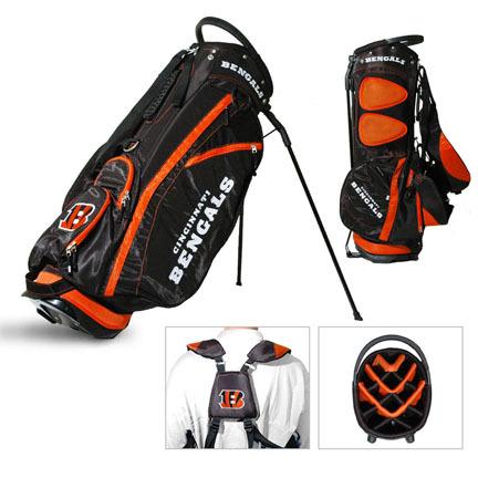 Cincinnati Bengals Fairway Stand Golf Bag