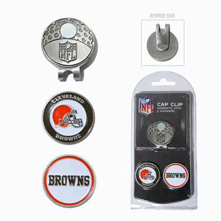 Cleveland Browns Golf Cap Clip