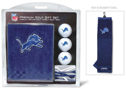 Detroit Lions Golf Balls, Golf Tees, and Embroidered Towel Set (30920 Team Golf) photo