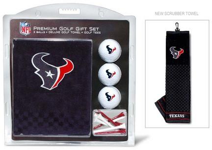Houston Texans Golf Balls, Golf Tees, and Embroidered Towel Set (31120 Team Golf) photo