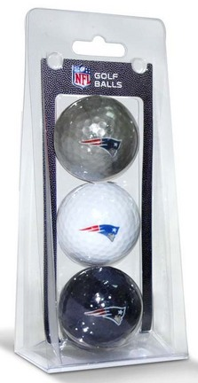New England Patriots Golf Ball Pack TMG-31705