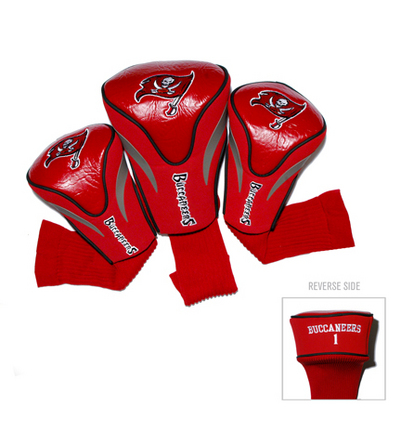 Tampa Bay Buccaneers Contour Fit Golf Headcover (3-Pack) TMG-32994