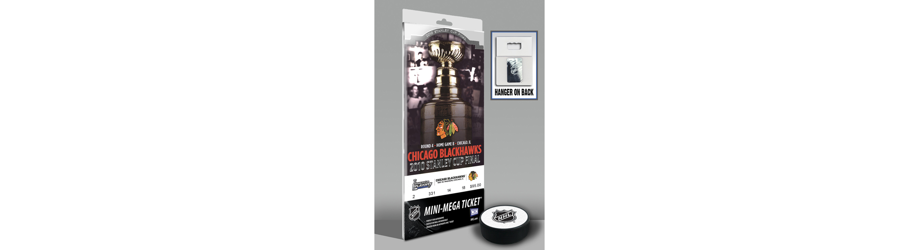Chicago Blackhawks 2010 Stanley Cup Mini-Mega Ticket TMT-HCHIMM10SC