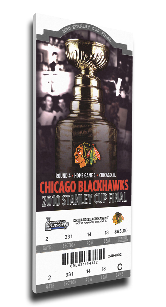 Chicago Blackhawks 2010 Stanley Cup Mega Ticket TMT-HCHIMT10SC