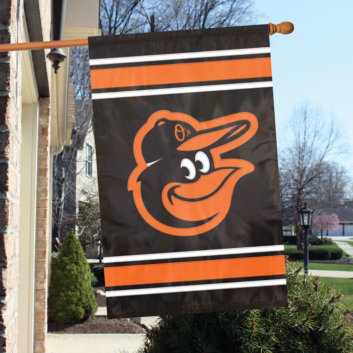 Baltimore Orioles MLB Applique Banner Flag TPA-AFBAL