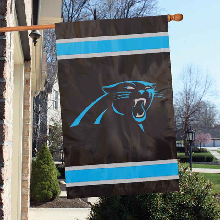 Carolina Panthers NFL Applique Banner Flag TPA-AFCP
