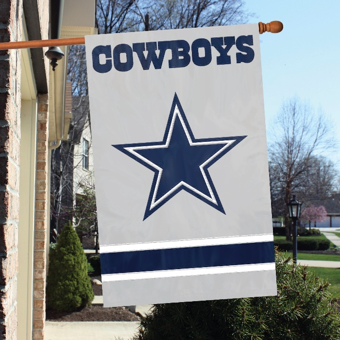 Dallas Cowboys NFL Applique Banner Flag TPA-AFDA
