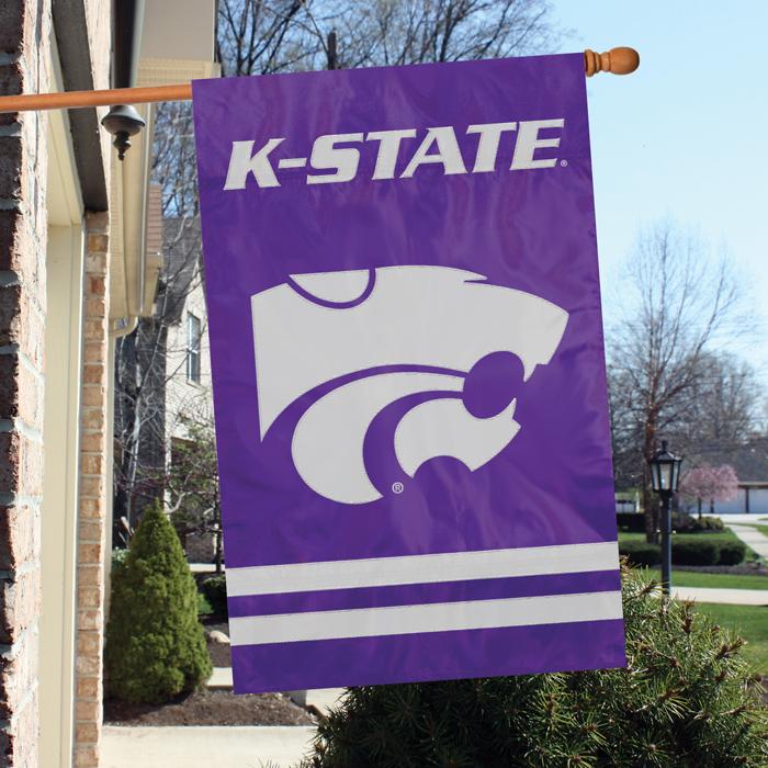 Kansas State Wildcats NCAA Applique Banner Flag TPA-AFKSS