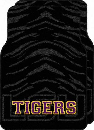 Click here for Louisiana State (LSU) Tigers 19 x 29 Car (Auto) Fl... prices