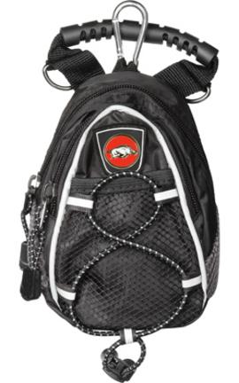 Arkansas Razorbacks  Black Mini Day Pack (Set of 2) TTU-LW-CO3-ARR-MDP