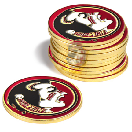 Florida State Seminoles Golf Ball Marker (12 Pack)