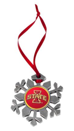 Iowa State Cyclones Snowflake Ornament (Set of 2) TTU-LW-CO3-ISC-SFO