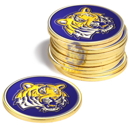 Louisiana State (LSU) Tigers Golf Ball Marker (12 Pack)