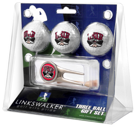 Las Vegas (UNLV) Runnin' Rebels 3 Golf Ball Gift Pack with Cap Tool