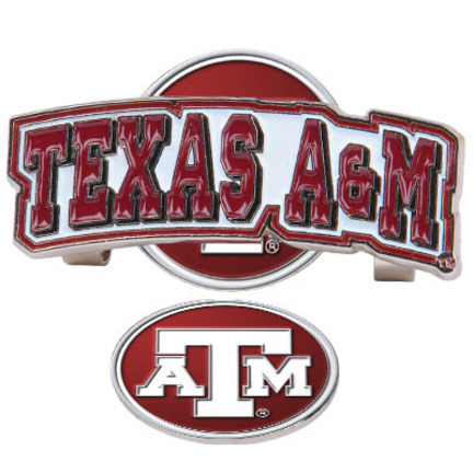 Texas A & M Aggies Slider Clip with Golf Ball Marker (Set of 3)