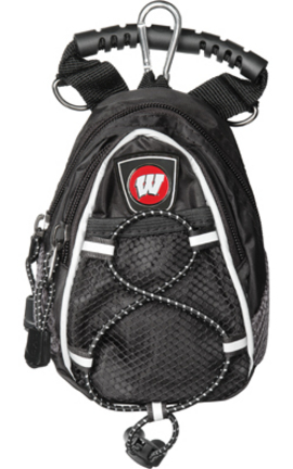 Wisconsin Badgers Black Mini Day Pack (Set of 2)