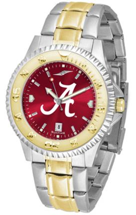 Alabama Crimson Tide  Competitor AnoChrome Two Tone Men's Watch