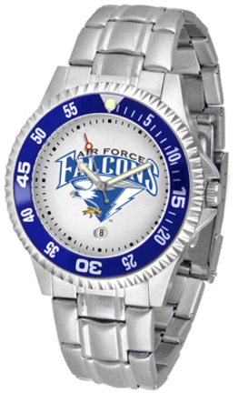 Air Force Academy Falcons Competitor Men's Watch with a Metal Band