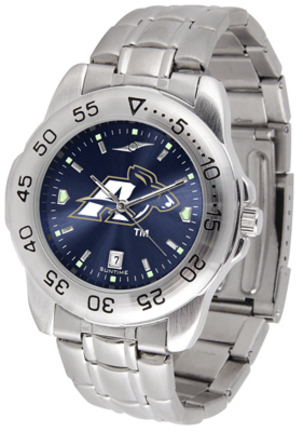 Akron Zips Sport Steel Band Ano-Chrome Men's Watch