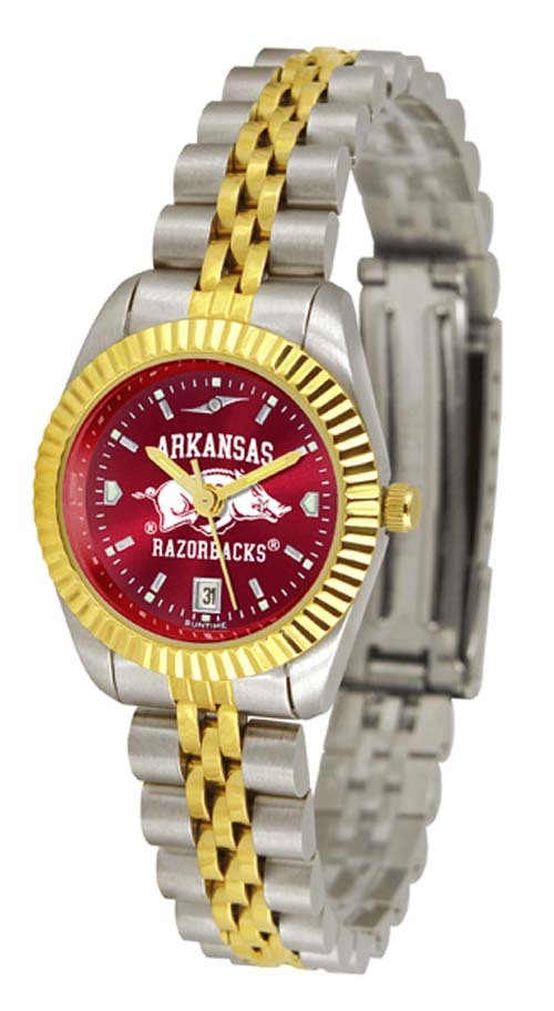 Arkansas Razorbacks Ladies Executive AnoChrome Watch