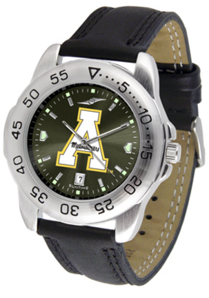 Appalachian State Mountaineers Sport AnoChrome Men's Watch with Leather Band