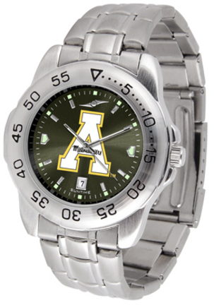 Appalachian State Mountaineers Sport Steel Band Ano-Chrome Men's Watch