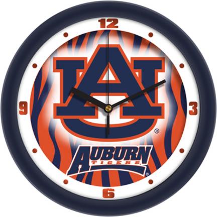 Auburn Tigers 12 inch Dimension Wall Clock