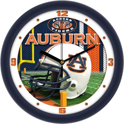 Auburn Tigers  12 inch Helmet Wall Clock