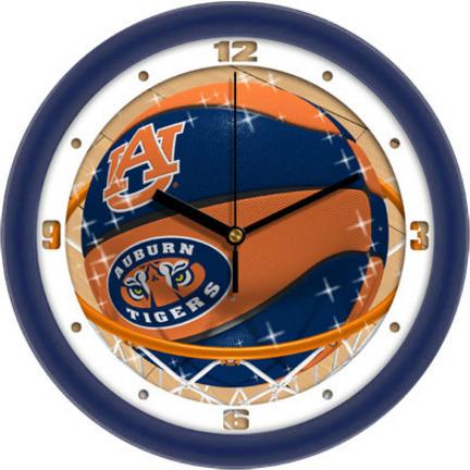 Auburn Tigers Slam Dunk 12 inch Wall Clock