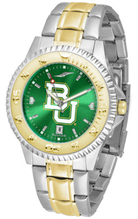 Baylor Bears Competitor AnoChrome Two Tone Men's Watch