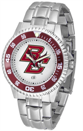 Boston College Eagles Competitor Men's Watch with a Metal Band