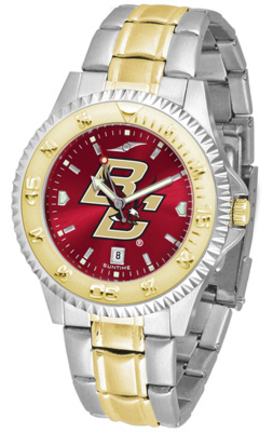 Boston College Eagles Competitor AnoChrome Two Tone Men's Watch