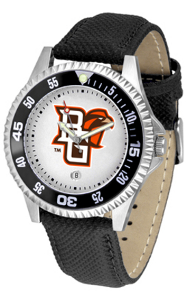 Bowling Green State Falcons Competitor Men's Watch with Nylon / Leather Band