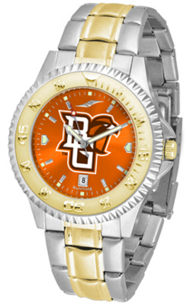Bowling Green State Falcons Competitor AnoChrome Two Tone Men's Watch